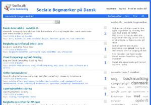 Social Bookmarking SocBo.dk